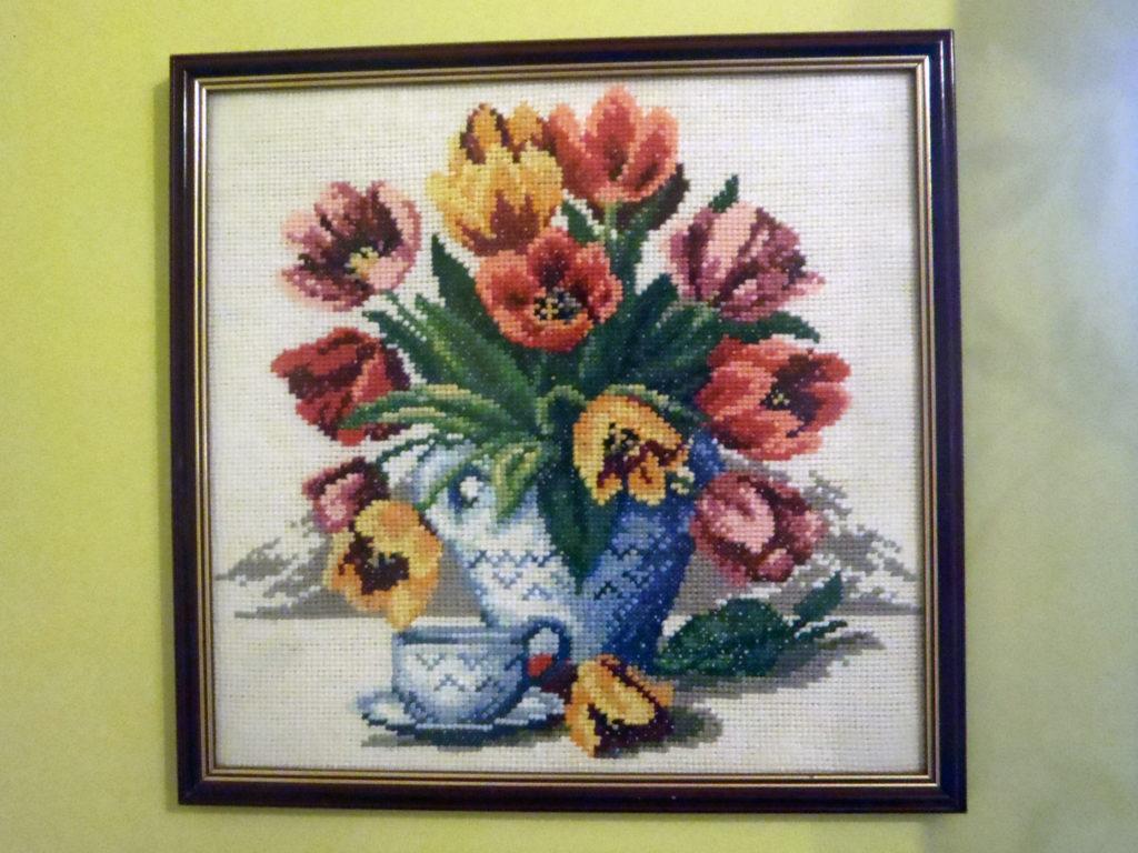 haft-tulipany