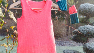 Tunika arbuz na drutach