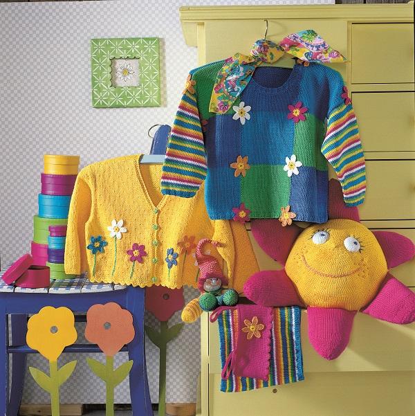 Sweterek w kwiatki